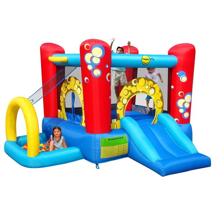 Location aire de jeux gonflable enfant union sportive gymnastique guadeloupe - Structure gonflable happy hop ...
